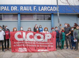 Se brindó una Conferencia de Prensa en el Hospital Larcade tras el violento accionar policial