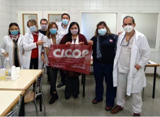 """Integrantes del CDP mantuvieron un encuentro con afiliadxs del Hospital """"Dr. Eduardo Wilde"""""""