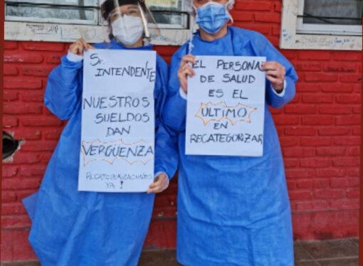 Lxs profesionales de CICOP Municipales de General Pueyrredón realizaron una nueva Movilización Virtual por la Salud Pública