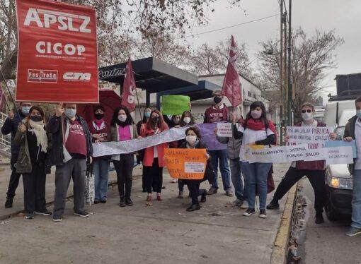 Semaforazo por la Salud Pública en Lomas de Zamora