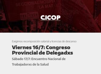 Circular N° 28 del Consejo Directivo Provincial