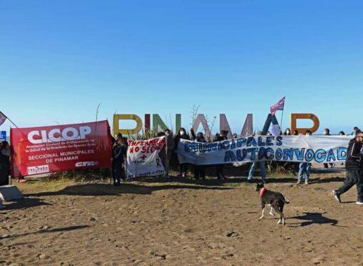 La unidad de lxs trabajadorxs de Pinamar logró el pago de los salarios de junio