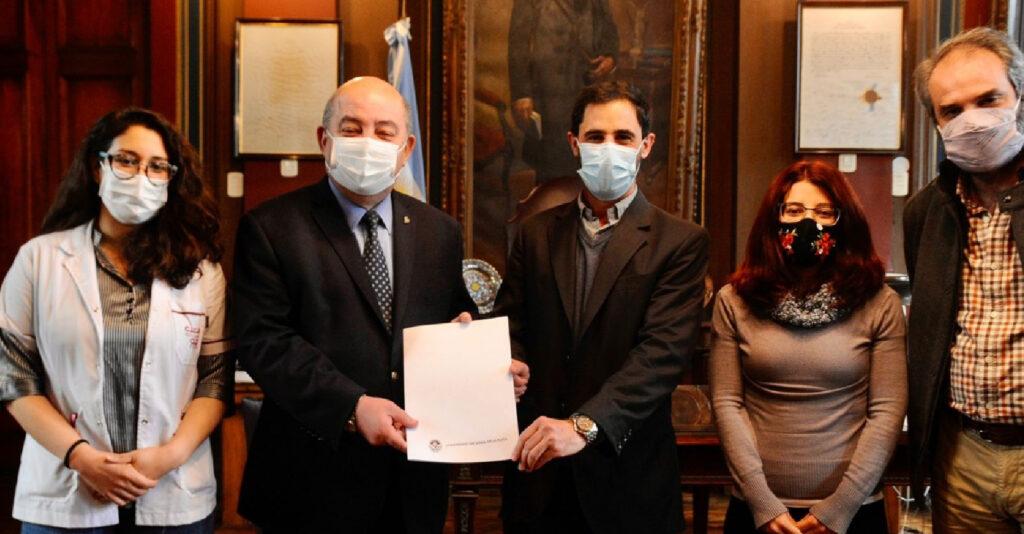 CICOP firmó un convenio con la Universidad Nacional de La Plata
